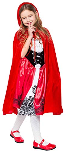 Halloween Costumes for GirlsRedRidingHoodCostume 2T 3T 4T 4 5 6 7 8 10 12 ()