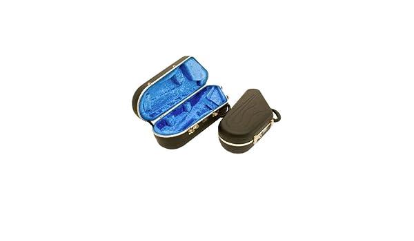 Hiscox PROII-WTS Tenor Sax Case Black Shell// Blue Interior