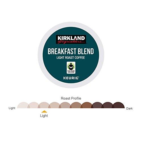 Kirkland Signature Coffee Single Serve K-Cup (Breakfast Blend, 240 K-Cups) by Kirkland Signature (Image #1)