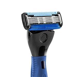Ustraa Gear 5 Shaving Razor (Handle + Blade) – Blue