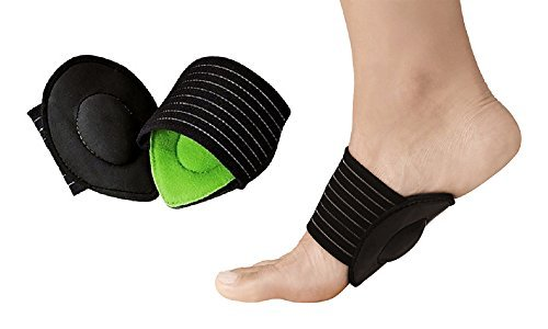 Foot Heel Pain Relief Plantar Fascilitis Insole Pads & Arch Support Shoes Insert, 1 Pair.