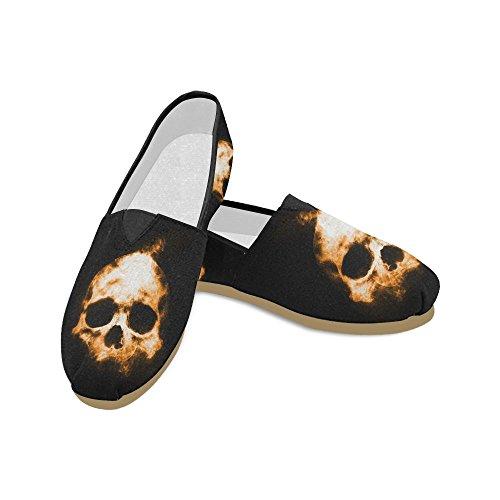 Mocassini Zombie Impronta Digitale Scarpe Casual Per Uomo Donna Skull2