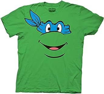 Tmnt teenage mutant ninja turtles blue for Green turtle t shirts review