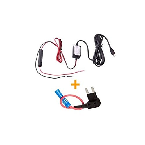 spy tec dash cam hardwire fuse kit with micro usb direct