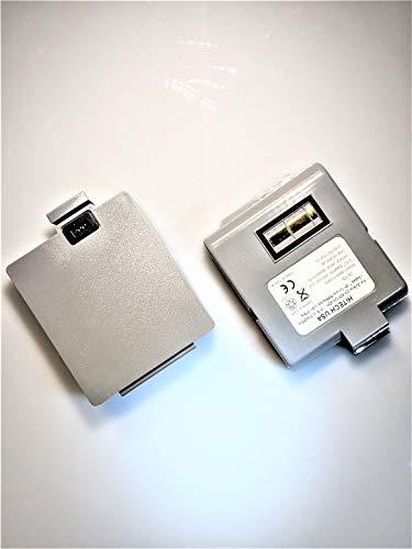 2 Batteries AT16293-1(Cells of Made in Japan) for Zebra QL420, QL420+ Barcode Portable Label Printers (Zebra Ql420 Battery)