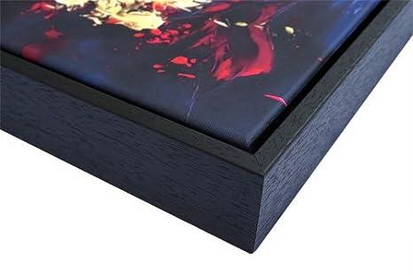 Peinture dart Abstrait Gris et Jaune 2-30x20 cm Abstrait Prime Impression sur Toile Art Mural weewado Carollynn TICE