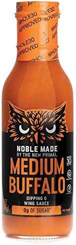 THE NEW PRIMAL Medium Buffalo Dipping & Wing Sauce, 12 OZ