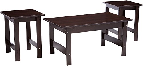 - Sauder 412935 Beginnings 3-Pack Table Set, L: 35.32