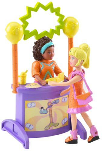 Polly Pocket - Relaxin Resort Playset - Spin'n Swing with Shani -
