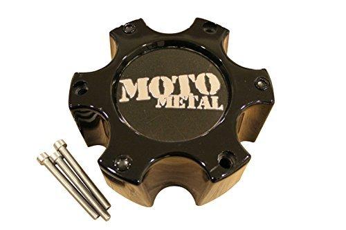 Moto Metal 909 957 959 Gloss Black Wheel 6 Lug Rim Center Cap 306B139-6H