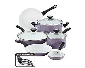 Farberware 12 Piece Ceramic Nonstick Cookware