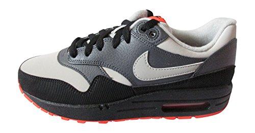 Nike Air Max 1 ( GS ), Hombre Zapatillas gris oscuro granito black 096