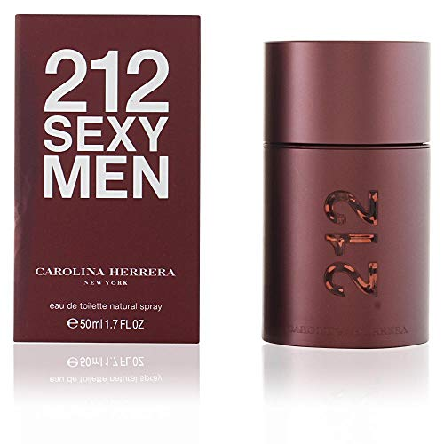 212 Men For Cologne - 212 Sexy by Carolina Herrera For Men. Eau De Toilette Spray 3.4-Ounces