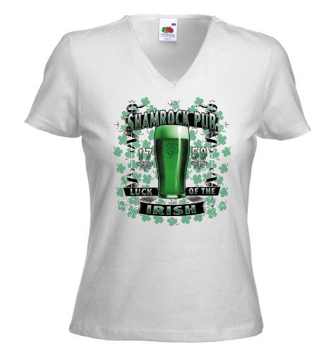 Fruit of the Loom - Camiseta - para mujer blanco large