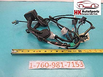 Marvelous Amazon Com Door Wire Wiring Harness Rear Right Passenger Cadillac Wiring Digital Resources Bioskbiperorg