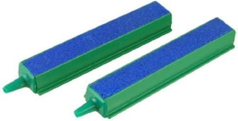 Jardin de plástico End 2-Piece Barras difusor de aire, de 4 pulgadas, azul / verde: Amazon.es: Productos para mascotas