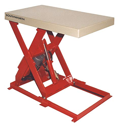 Southworth Scissor Lift Table, 500 lb., 115V, 1 Phase - LS05-30-1224-FS-115V