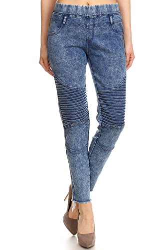 colored denim pants - 5