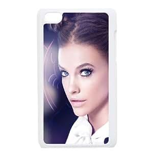 iPod Touch 4 Case White he98 barbara palvin blue flare cute sexy model I2J6KD