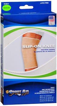 Sport Aid Slip-On Knee Wrap, Medium - 1 ea, Pack of 6