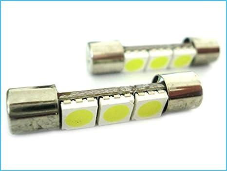 AERZETIX 20 x Lampadine LED T10 W5W 12V Luce Bianco .