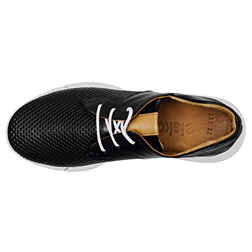 Vayah White Women Sneakers Elska Black Solid Casual waqOSw0xp