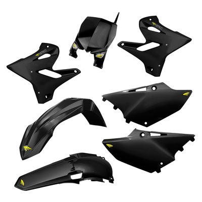 Cycra 15-19 Yamaha YZ250 Powerflow Plastic Kit (Black)