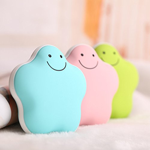 Hangang 2 in 1 Multifunctional 3600mAh Power Bank USB Rechargeable Lucky Star Digital HandS Warmer Treasure Portable Heater Best Christman Gift by HANGANG (Image #4)