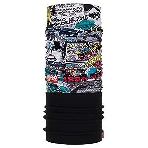 Buff Unisex's Comic Pop Power Neckwarmer, Multi-Coloured, One Size