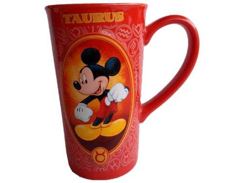(Tall Disney Mickey Mouse Taurus Zodiac Mug)