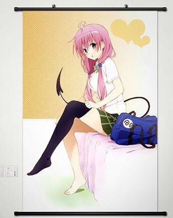 Poster To love ru Lala /& Yui Japan Anime Boy Art Room Wall Cloth Print 520