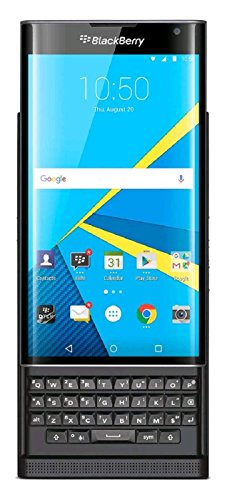 BlackBerry PRIV Carrier Unlocked GSM Android Smartphone w/Slide-Out Physical Keyboard - Black