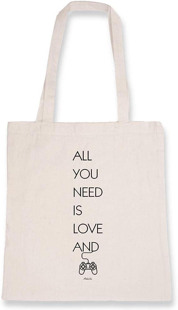 ArteCita Tote Bag - Bolsa de algodón orgánico, diseño con texto ...