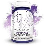 MicroZinc Capsules | 20mg | Optimized Zinc Supplement | 30 Count