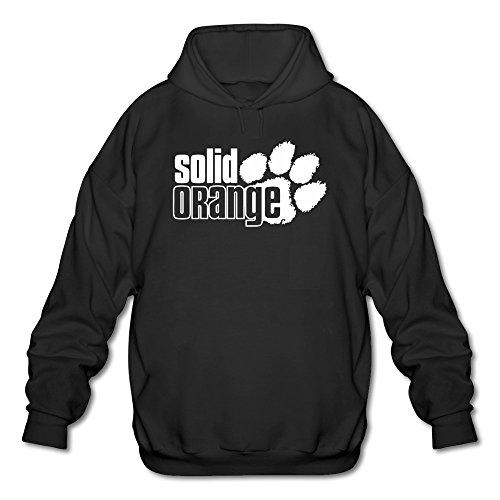 Clemson Tigers Sunshade (Tjame Men's Carolina Clemson Tigers Solid Orange Logo Hoodie Black)