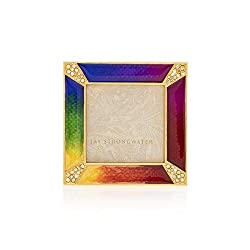 Leland Pave Corner Square Rainbow Frame