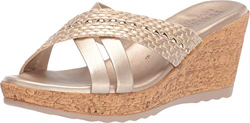 ITALIAN Shoemakers Women's Lyra Platinum 8 M US ()