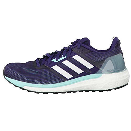 adidas Supernova W, Zapatillas De Gimnasia para Mujer, Gris Multicolor (Noble Ink /ftwr White/energy Aqua )