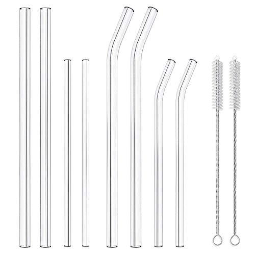Vencer Reusable Smoothie Drinking Straws product image