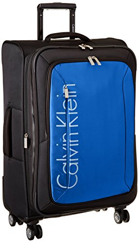 Price comparison product image Calvin Klein Tremont 25 Inch Upright Suitcase, Blue, One Size
