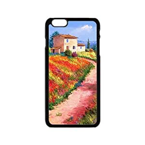 LJF phone case Countryside nature scenery Phone Case for iPhone 6