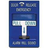 SDC 492 Pull Station, Emergency Door Release, 2-SPDT, Blue