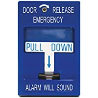 SDC 492 Pull Station, Emergency Door Release, 2-SPDT, Blue