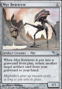 (Magic: the Gathering - Myr Retriever - Mirrodin -)