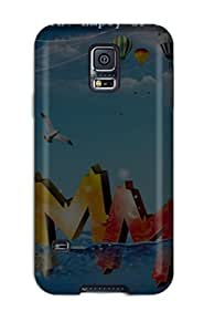 Ultra Slim Fit Hard Claudia Phillips Case Cover Specially Made For Galaxy S5- Cool Summer