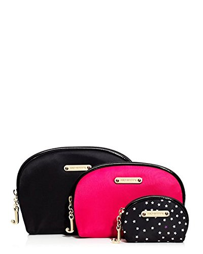 Juicy Couture 3 Piece Cosmetic Cases (Juicy Couture Makeup Bags)