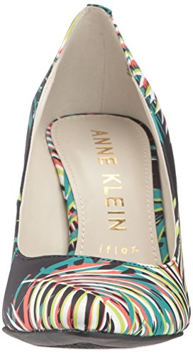 Anne Klein Dames Faelyn Stoffen Pump Black / Multi Fabric