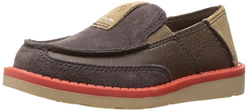 Kids' Cruiser Slip-on Shoe, Chocolate Grey, 12 M US Little Kid