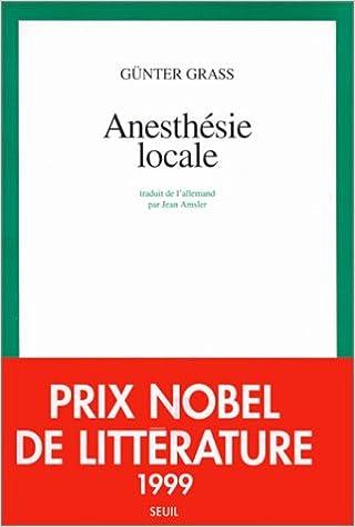 Livre gratuits en ligne Anesthésie locale pdf ebook