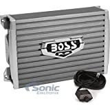 BOSS Audio Systems AR1500M Car Amplifier - 1500 Watts Max Power, 2 4 Ohm Stable, Class AB, Monoblock, Mosfet Power Supply, Remote Subwoofer Control